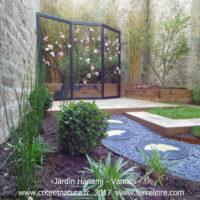 jardins éphémères vannes bastion de la porte Notre Dame 2017