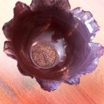 coupelle fleur